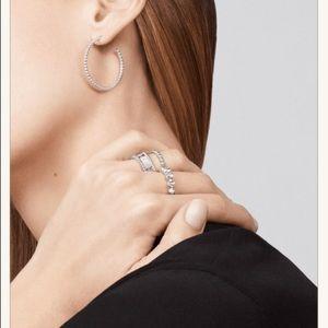 Jewelry - Perlee silver pearls of bead hoop earrings vca